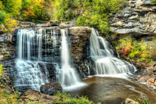 Blackwater Falls In State Park...