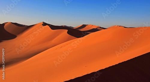 Deurstickers Marokko Beautiful sand dune in africa