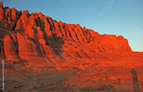 Poster de jardin Rouge Beautiful sand dune in Africa