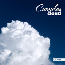 Edge Of A Huge White Cumulus C...