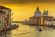 Canale Grande in Venedig bei Sonnenaufgang