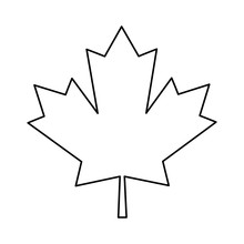 Maple Leaf Green Sign Canadian...
