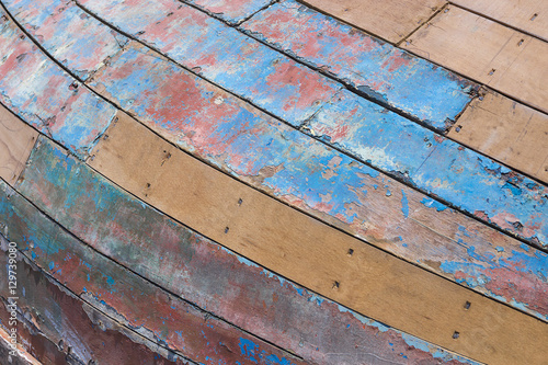 Fototapety, obrazy: Wooden wall. Wood surface. Background to apply it on graphic or 3d design elements.