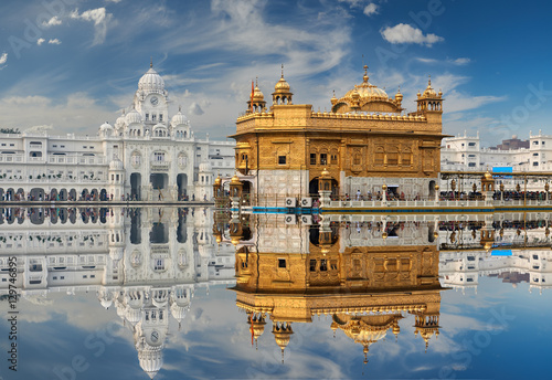 Wall Murals Place of worship The Golden Temple, located in Amritsar, Punjab, India.