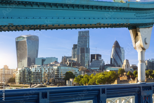 Photo  City of London one of the leading centers of global finance