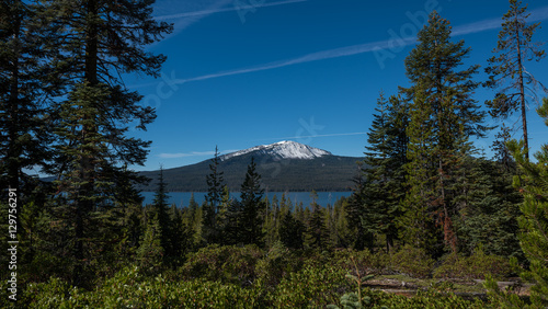 фотография  Mt Bailey and Diamond Lake Oregon
