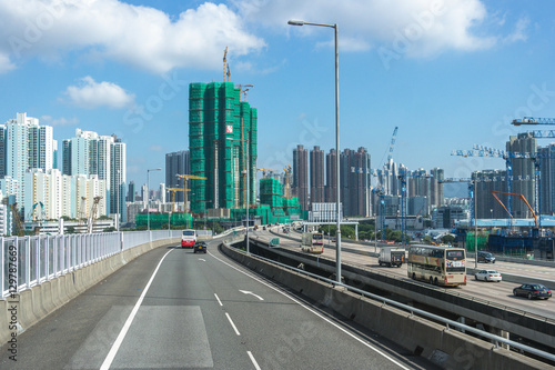 West Kowloon Highway, Hong Kong Poster