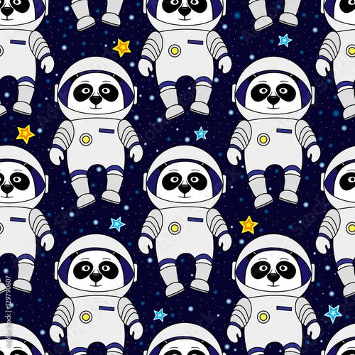 panda-astronauta-i-gwiazdy-w-przestrzeni-kreskowka-styl-wektor-wzor-bez-szwu-do-tekstyliow-okladka-papier-pakowy-wydruki