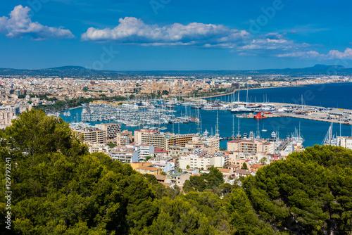 Marina and Harbor of Palma de Mallorca