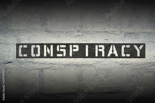 Fotografie, Obraz  conspiracy WORD RG
