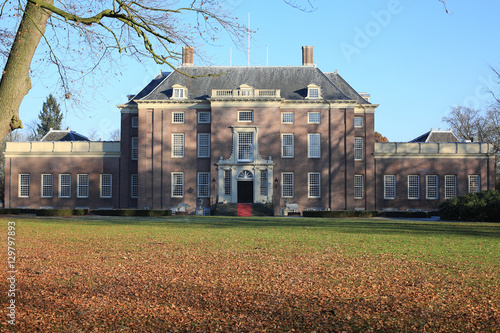 Photographie  The historic Castle Zeist in The Netherlands