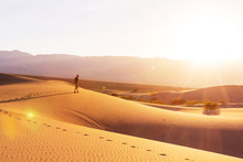 Hike In Desert