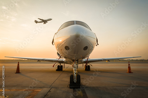 Fotomural jet plane