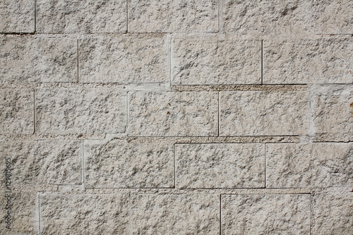 Photo Ashlar wall background or texture