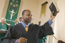 Preacher Preaching The Gospel ...