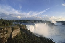 American Falls In Foreground, ...