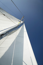 Low Angle View Of Mast Of The ...