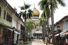 The Sultan Mosque Built In 1826, Kampong Glam, Singapore