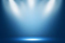 Blue Spotlight Effect Night Ba...