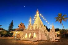 Phra That Doi Kong Mu Temple In Mae Hong Son, Thailand