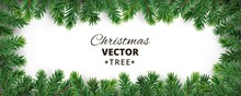 Banner With Vector Christmas T...