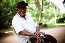 Elderly Indian Man. Indian Man...