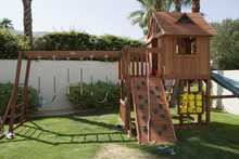 Playhouse For Children In Back...