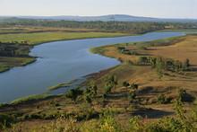 Blue Nile Leaving Lake Tana, Ethiopia