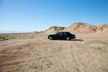 Rolls Royce Car Parked On Unpa...