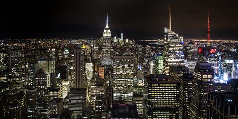 FototapetaThe New York City in the night