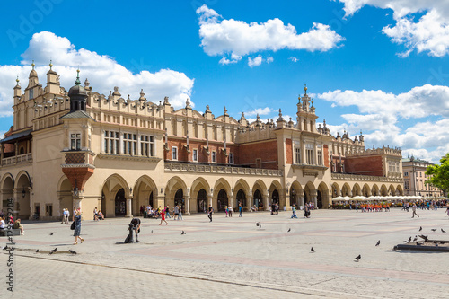 The main market square in Krakow