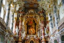 The Weiskirche (White Church), Near Fussen, Bavaria, Germany