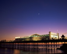 Brighton Pier At Twilight, Bri...