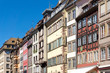 Beautiful view of ancient buildings at Strasbourg, Alsace, Franc