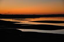 Folsom Lake Sunset During Drou...