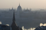 Parliament and Danube, Budapest, Hungary - 130032254
