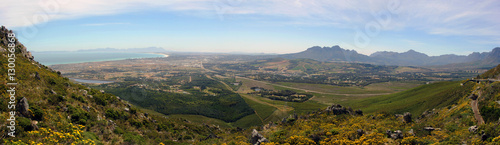 Foto op Plexiglas Zuid Afrika Aussicht von Sir Lowry's Pass, Südafrika