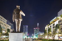 Ho Chi Minh Statue, Ho Chi Minh City (Saigon), Vietnam