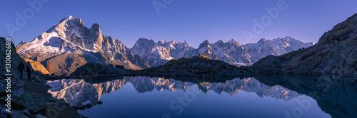 Fototapeta Lac Blanc - Massif du Mont-Blanc
