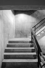 Empty Modern Rough Concrete St...