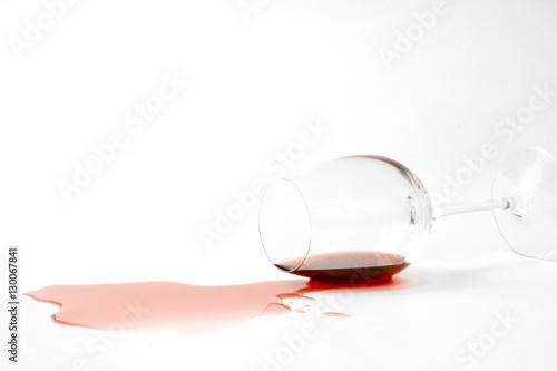 Fotografering  Spilled wine