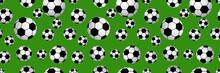 Seamless Of Soccer Balls