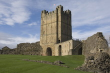 Richmond Castle Dating From The 11th Century, North Yorkshire