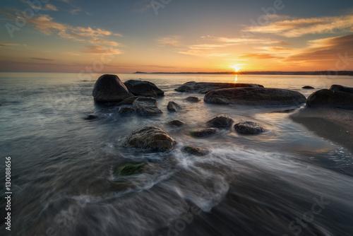 Wall Murals New Zealand Sea sunrise