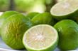 Close Lemon slice , Prepared lemon slice for cooking