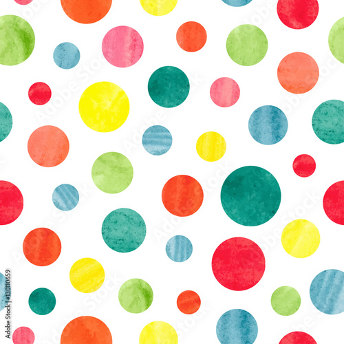 bezszwowy-kolorowy-kropka-wzor-tlo-wektor
