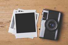 Blank Vintage Instant Photogra...