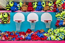 Basketball Game Of Chance At B...