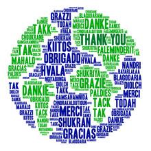 International Thank You Word C...