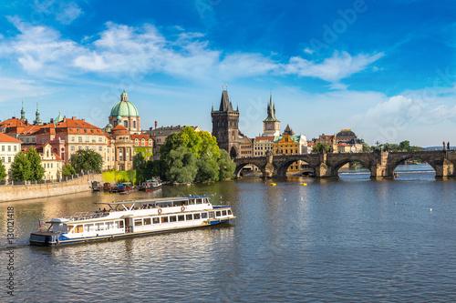 Poster Prague Panoramic view of Prague
